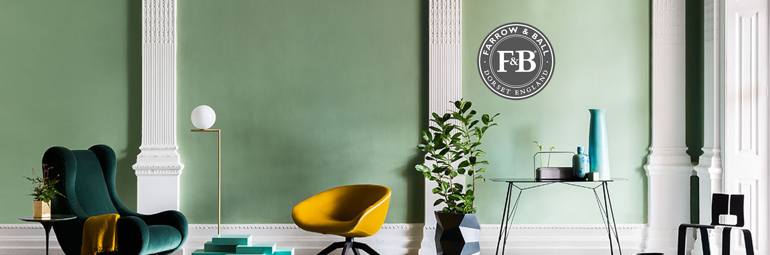 Farrow and Ball verf